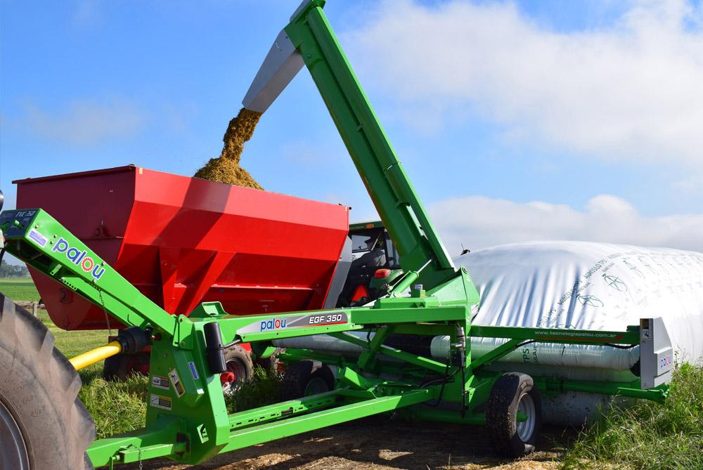 Extractor de silo bolsa palou EGF 350 Palou